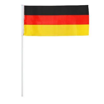 """Deko-Fahnen Set """"Stick"""" Deutschland, 11er Set schwarz-rot-gelb EL0119500"""