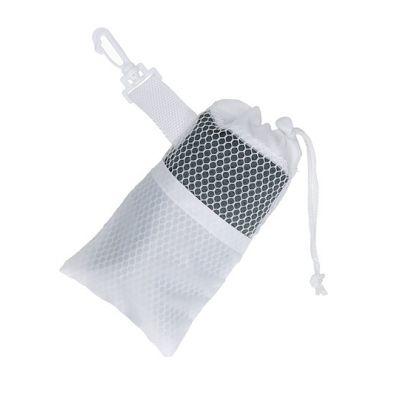 """Fitnesshandtuch """"Cooling"""" weiß-grau EL0126303"""