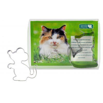Backförmchen-Box Katze inkl. Digitaldruck 4c
