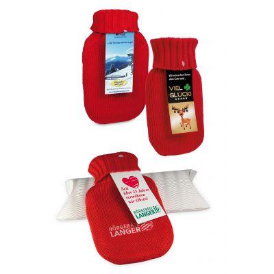 Mini-Wärmflasche ohne Werbekarte