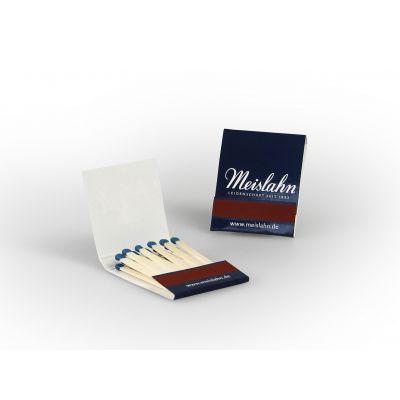 Streichholzbriefchen BMS20 mit Werbedruck 4c Euroskala bedrucken (EU0003700)