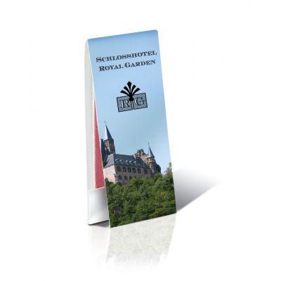 Briefchen mit 4 Nagelfeilen mit Werbedruck 1c bedrucken (EU0000400)