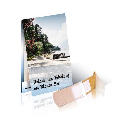 Briefchen mit 2 Pflastern mit Werbedruck 1c bedrucken (EU0000200)