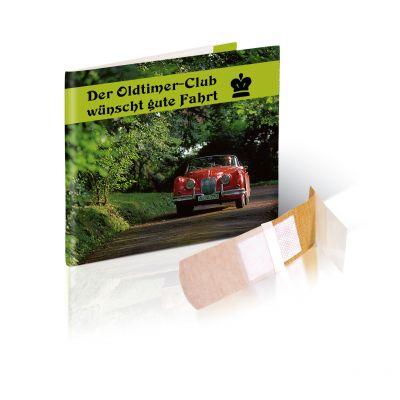 Briefchen mit 4 Pflastern mit Werbedruck 1c bedrucken (EU0000500)