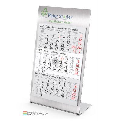 Desktop 3 Steel Bestseller inkl. 4C Druck lichtgrau