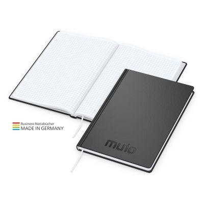 Easy-Book Basic A5 Bestseller, schwarz, Prägung schwarz-glänzend