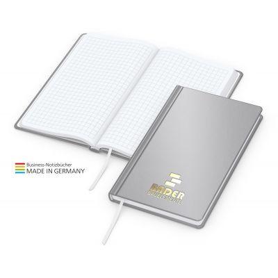 Easy-Book Basic Pocket Bestseller, silbergrau, Goldprägung
