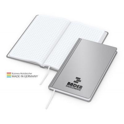 Easy-Book Basic Pocket Bestseller, silbergrau, Prägung schwarz-glänzend