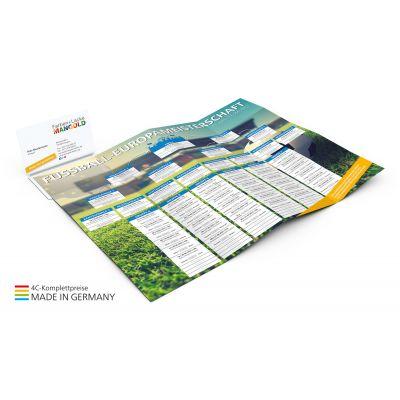 Info-Card EM Bestseller inkl. 4C Druck bunt