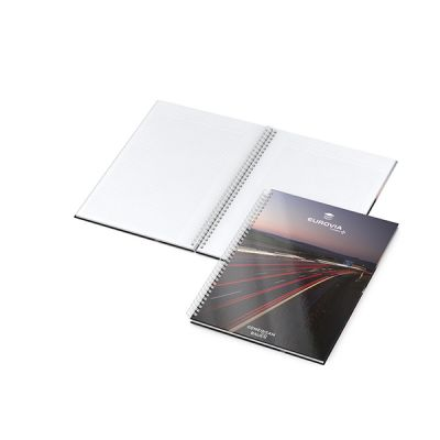 Bizz-Book A4-Plus Cover-Star Bestseller inkl. 4C Druck mit Logo bedrucken - Werbeartikel