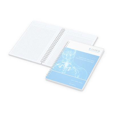 Bizz-Book A5 Polyprop Bestseller inkl. 4C Druck mit Logo bedrucken - Werbeartikel