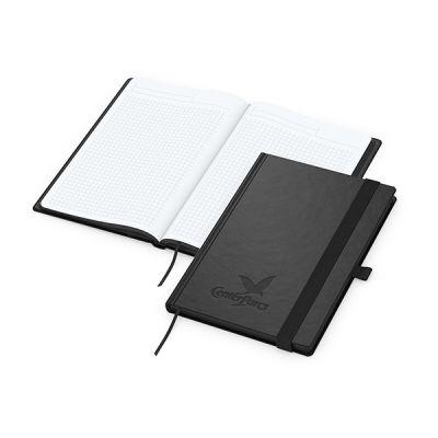 Black-Book A5 Bestseller inkl. Prägung mit Logo bedrucken - Werbeartikel