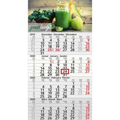 Budget 4 Recycling inkl. 4C Druck mit Logo bedrucken - Werbeartikel
