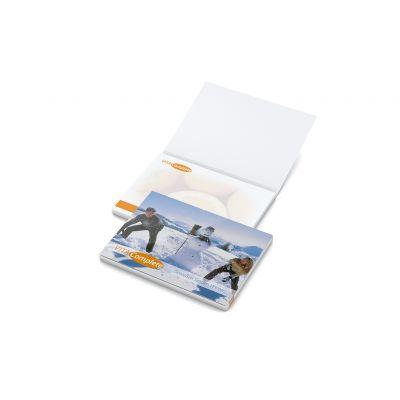 Cover Karton Individuell Bestseller inkl. 4C Druck mit Logo bedrucken - Werbeartikel