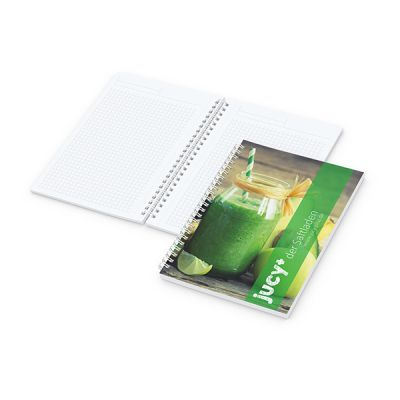 Meeting-Book A5 Bestseller inkl. 4C Druck mit Logo bedrucken - Werbeartikel