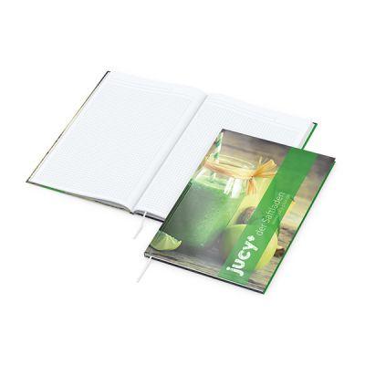 Memo-Book A4 Bestseller inkl. 4C Druck mit Logo bedrucken - Werbeartikel