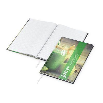 Memo-Book A5 Bestseller inkl. 4C Druck mit Logo bedrucken - Werbeartikel