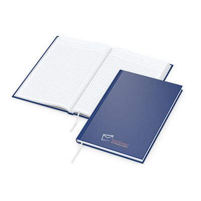 Note-Book A5 Bestseller inkl. 4C Druck mit Logo bedrucken - Werbeartikel