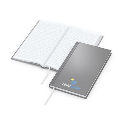 Note-Book Pocket Bestseller inkl. 4C Druck mit Logo bedrucken - Werbeartikel