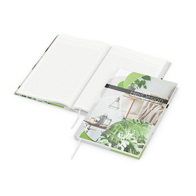 Note-Book A5 Natura inkl. 4C Druck mit Logo bedrucken - Werbeartikel