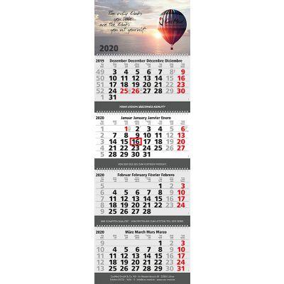 Quadro Wire-O 4 Bestseller inkl. 4C Druck mit Logo bedrucken - Werbeartikel