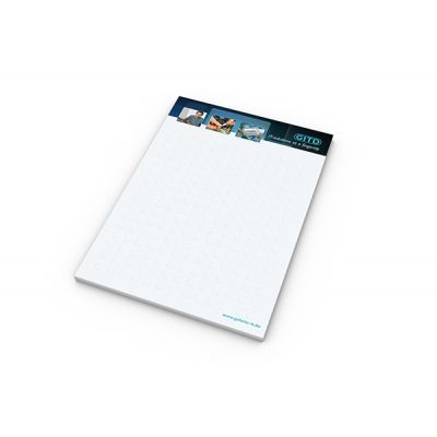 Schreibblock Pocket Bestseller inkl. 4C Druck mit Logo bedrucken - Werbeartikel