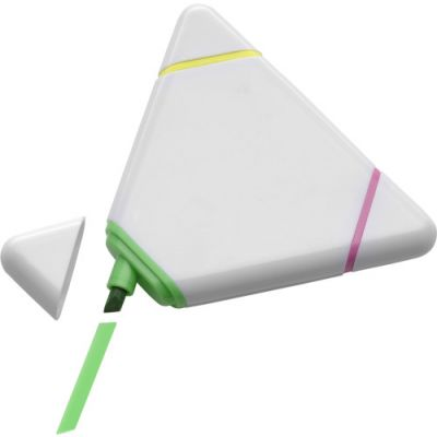 Textmarker 'Triple' weiß - 105202