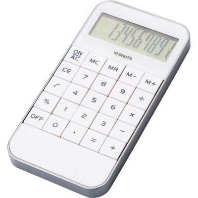Taschenrechner 'Retro' weiß - 114002