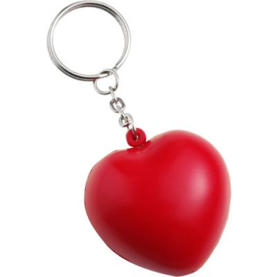 Anti-Stress Herz 'Love' aus PU Schaum rot - 117108