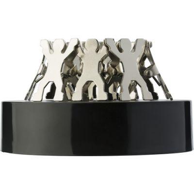 Memohalter 'People'/Metall silber - 119032