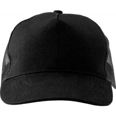 Baseball-Cap 'Sunshine' aus Baumwolle schwarz - 144701
