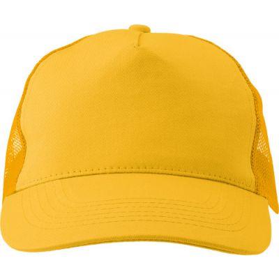 Baseball-Cap 'Sunshine' aus Baumwolle gelb - 144706