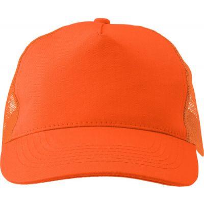 Baseball-Cap 'Sunshine' aus Baumwolle orange - 144707