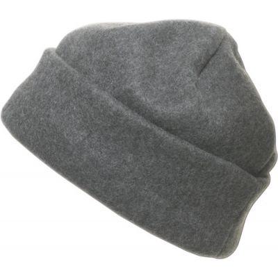 Fleece-Mütze 'Brixen' aus Polyester-Fleece grau - 174103