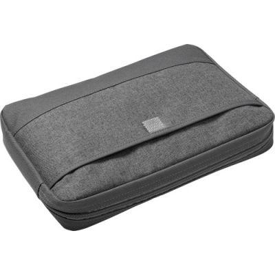 Laptop/Tablet-Tasche 'Barcelona' aus Polycanvas grau - 214003