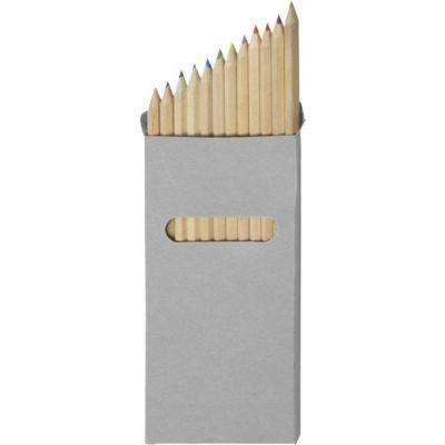 Buntstifte-Set 'Lisa' 12-tlg. beige - G2474-999