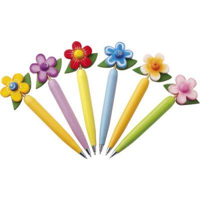 Kugelschreiber-Set 'Flower' bunt - 247809
