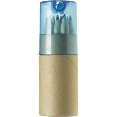 Buntstifte-Set 'Toddy' 12-tlg. blau - 2495