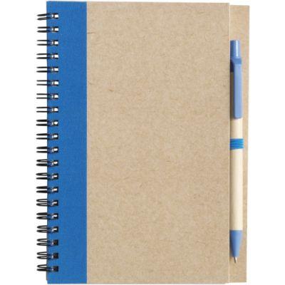 Notizbuch 'Freak' aus recyceltem Papier blau - 271518