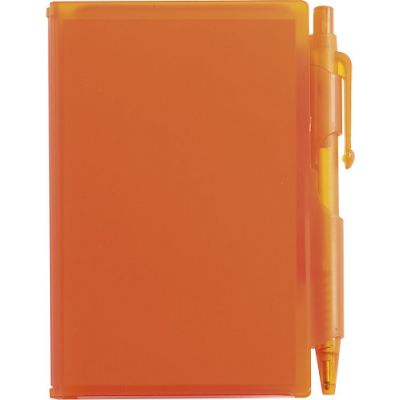 Notizbuch 'Agenda' orange - 273607