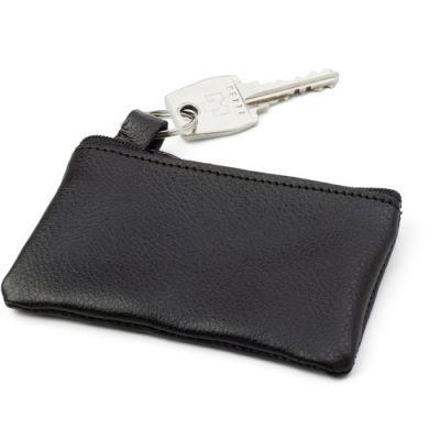 Schlüsseletui 'Comfortline' aus Leder schwarz - 276201
