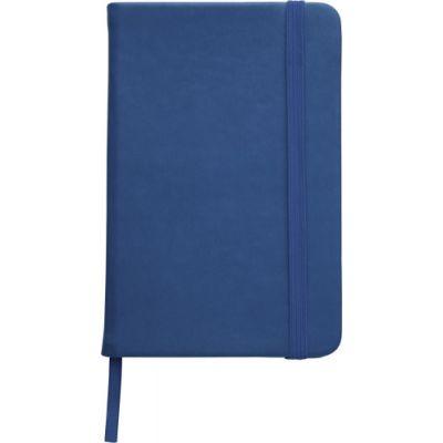 Notizbuch 'Pocket' aus PU blau - 2889
