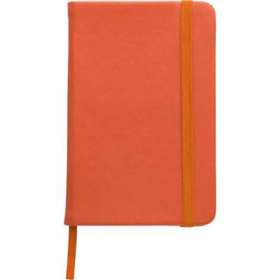 Notizbuch 'Pocket' aus PU orange - 288907