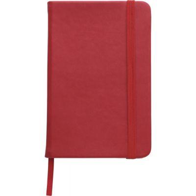 Notizbuch 'Pocket' aus PU rot - 288908