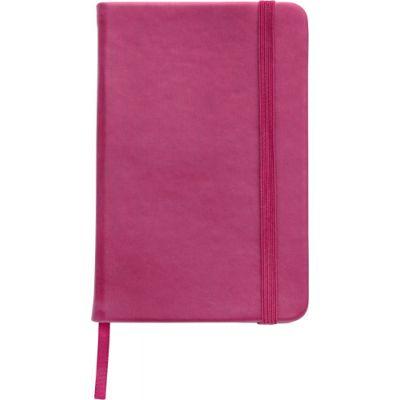 Notizbuch 'Pocket' aus PU rosa - 288917