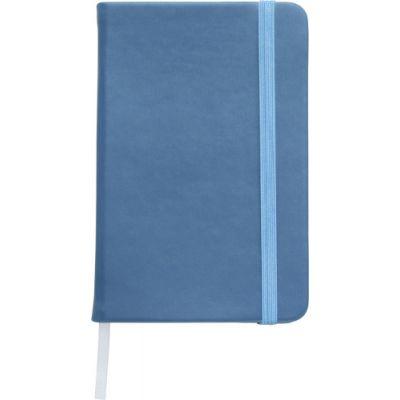 Notizbuch 'Pocket' aus PU blau - 288918