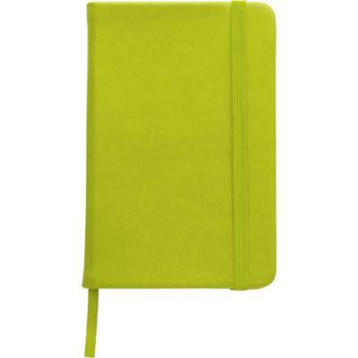 Notizbuch 'Color-Line' aus PU grün - 307629