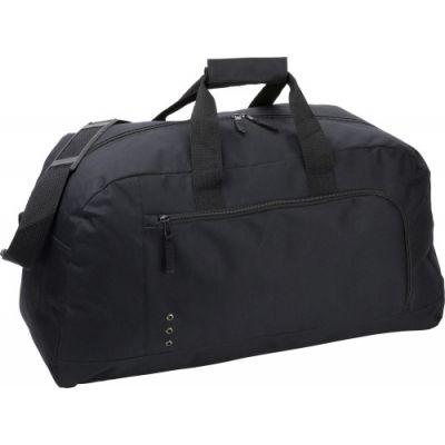 Sporttasche 'Premium' aus Polyester schwarz - 3572