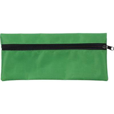 Stifte-Etui 'Jordi' aus Polyester grün - 3598