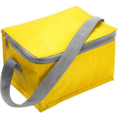 Kühltasche 'Kitzbühel' aus Nylon gelb - 3604